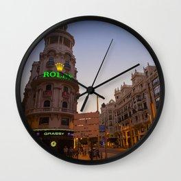 Gran Via Street Wall Clock
