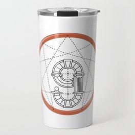 Roman Numerals Travel Mug