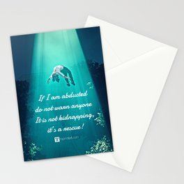 Abduction Stationery Cards