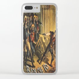 Vintage poster - Ranch 10 Clear iPhone Case