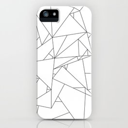 Abstract Origami iPhone Case