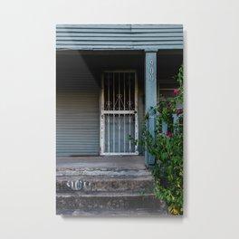 Door 900 Metal Print