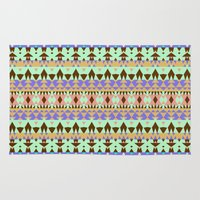 oasis Area & Throw Rugs featuring Oasis #3 by Ornaart