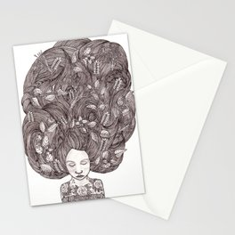 Bad Hair Day II Stationery Cards