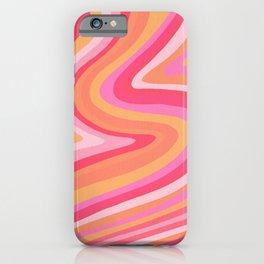 Sunshine Melt – Pink & Peach Palette iPhone Case