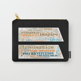 Life Path 11 (black background) Carry-All Pouch