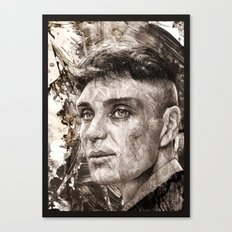 Cillian Murphy / Tommy Shelby / Peaky Blinders Canvas Print