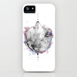 La Loba (White) iPhone Case