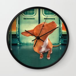 ViOLET (NYC style) Wall Clock