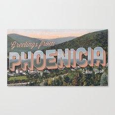 Phoenicia, NY Canvas Print