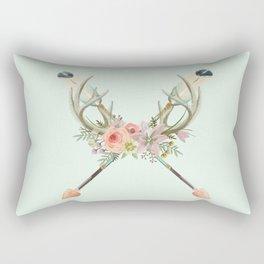arrows and flowers Rectangular Pillow