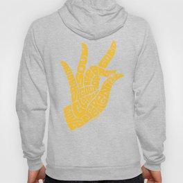 Heart Hand Rich Yellow Hoody