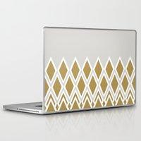 crown Laptop & iPad Skins featuring crown by lorelei art design