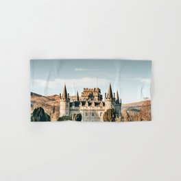 castle in scotland Hand & Bath Towel