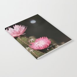 Pink Cactus Notebook