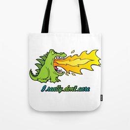 Dragon don't care Tote Bag