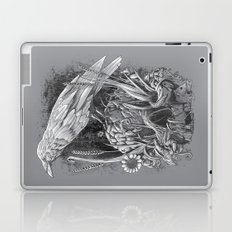 White Raven Laptop & iPad Skin