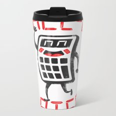 calc+u-later  Metal Travel Mug