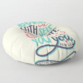 You make you Floor Pillow