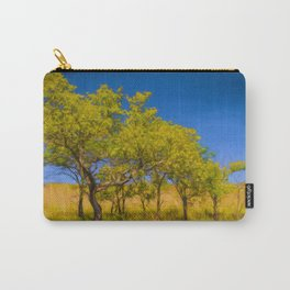 Impressionistic Trees Carry-All Pouch