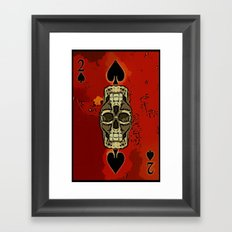 DUECES ARE WILD V2 - 002 Framed Art Print
