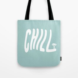 Summer Palm Chill Tote Bag