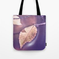 poem Tote Bags featuring LIGHT POEM by VIAINA