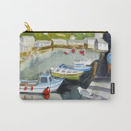 Sunny in Polperro Carry-All Pouch