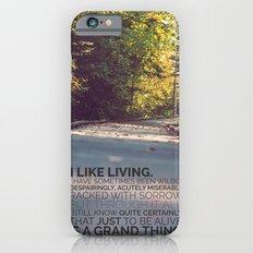 I like living - agatha christie Slim Case iPhone 6s