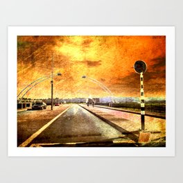 Bridge Over Troubled Water Art Print