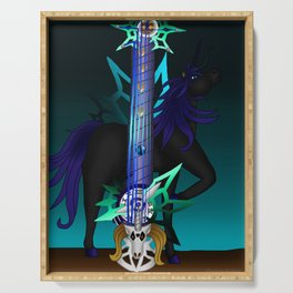 Fusion Keyblade Guitar #187 - Unicornis' Keyblade & Young Xehanort's Keyblade Serving Tray