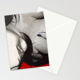 Smeared Stationery Cards