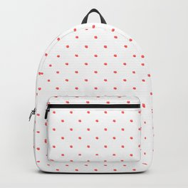 Roses Are Dead - dots and roses Backpacks
