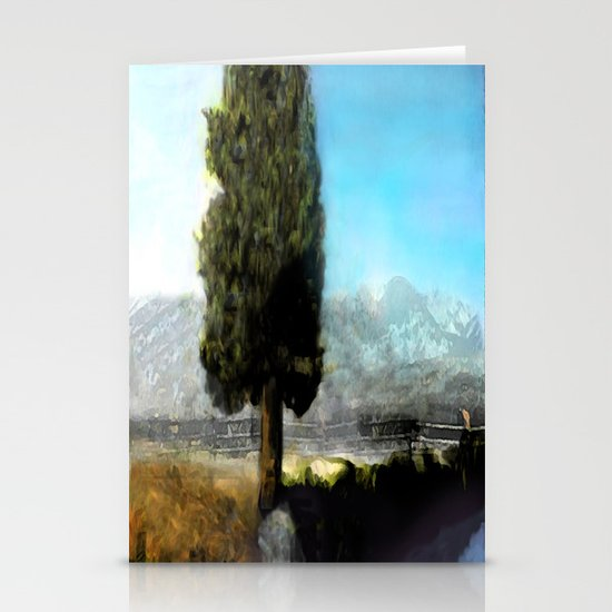 Wyoming Mystic Stationery Cards