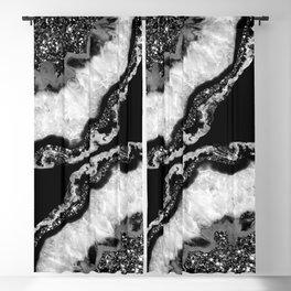 Yin Yang Agate Glitter Glam #4 #gem #decor #art #society6 Blackout Curtain