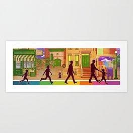 The Street I Grew up On Art Print