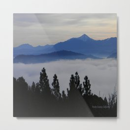 Another foggy morning in the mountains... Metal Print