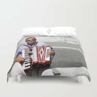 italian Duvet Covers featuring Italian by linalaughs