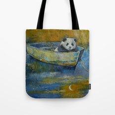 Panda Sailor Tote Bag