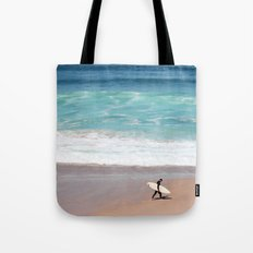 Lonely Surfer Tote Bag