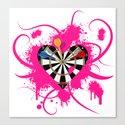 Dartboard Romance by palmstreetgallery