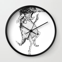 COWARD 2 Wall Clock