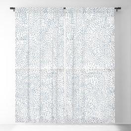 wavy dots Blackout Curtain