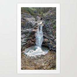 Buller Waterfall Art Print