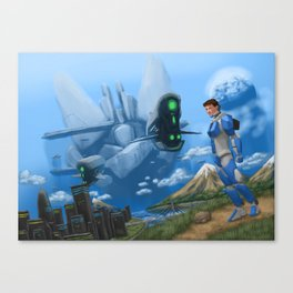 Unkown Creation Canvas Print