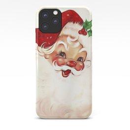 Vintage Santa 4 iPhone Case