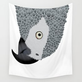 African Grey Parrot Wall Tapestry