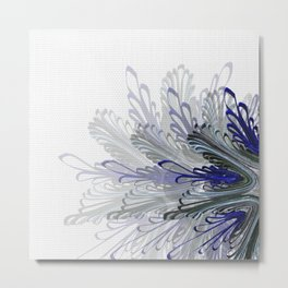 Layers quilling flower Metal Print