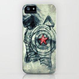 Winter Soldier Shield iPhone Case