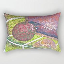 In the Kitchen: Fruit Sitting on the Windowsill  Rectangular Pillow